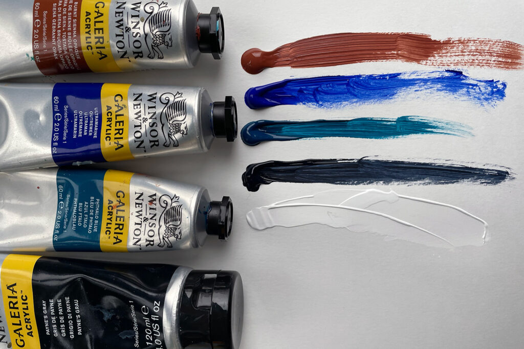 choosing colours for limited palette