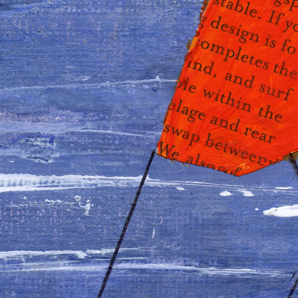 anderidaart kitesurfing poster art